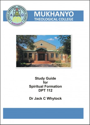 Spiritual Formation Study Guide