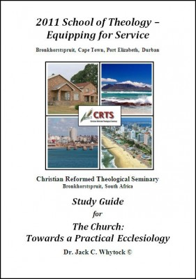 Ecclesiology Study Guide Cover